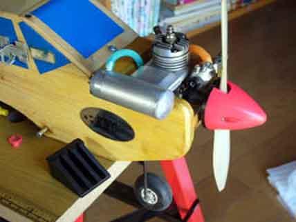 RC模型・ラジコン飛行機マフラーロウ付け代替・・アルミ接着肉盛り-GM-8300