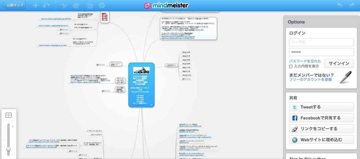 画像をクリックにて、マインドマスターmindmeister[思考空間を広げる]/マインドマップmindmap[図解表現技法・思考マップ]使用事例へリンク