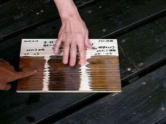 木の手触り感って・・エポキシ樹脂を塗っても・・重要?大切?どんな感じ?
